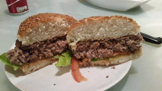 מתכון המבורגר ביתי של עידו משל - התוצאה