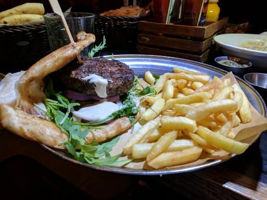 המבורגר במלאווח של פפריקה