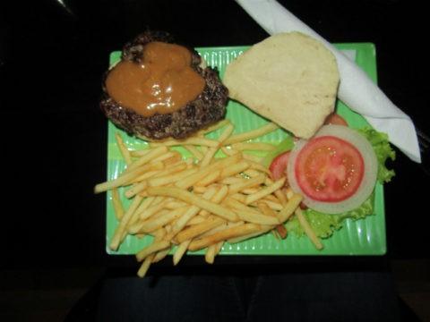 המבורגר אלביס של Winston's Burgers