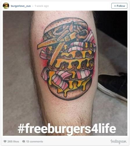 free burgers 4 life