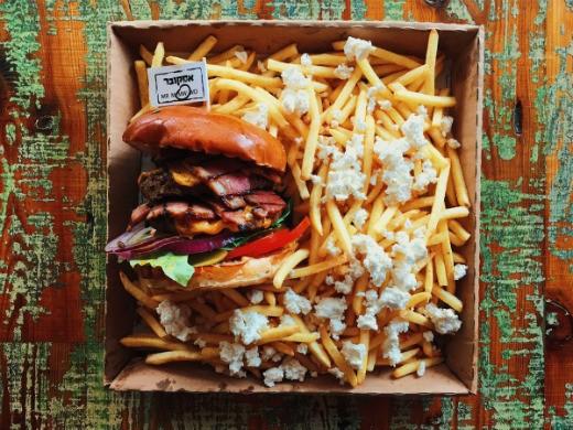 אסקובר של הגראז' - הכי טוב המבורגר