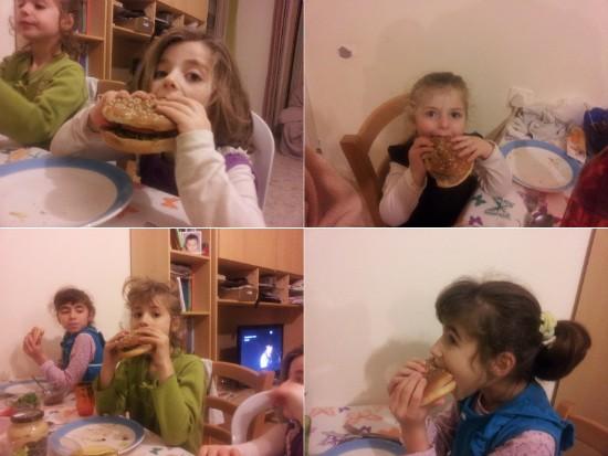 המבורגרים כפעילות לכל המשפחה!