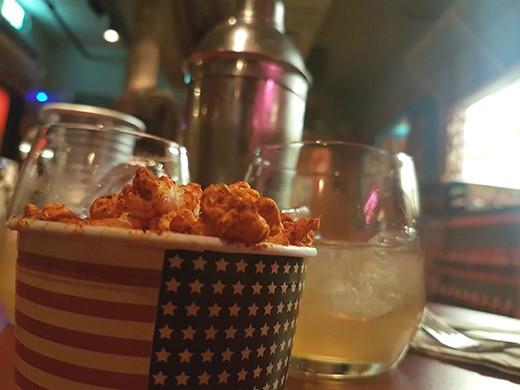 הפופקורן של מסעדת אמריקה