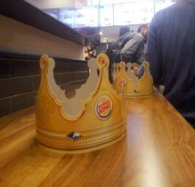 שובו של המלך - ברגר קינג