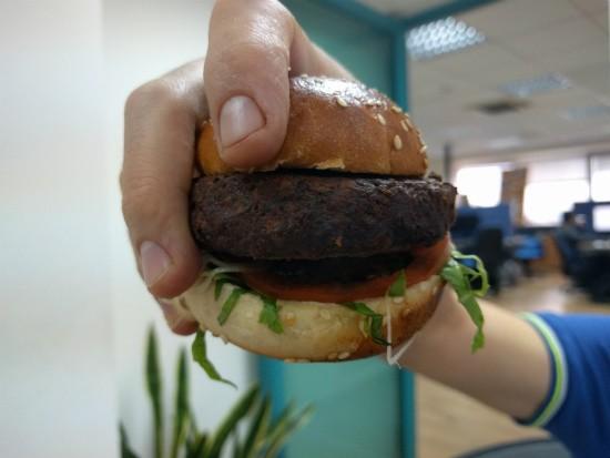 המבורגר צמחוני של בורגרים קרליבך