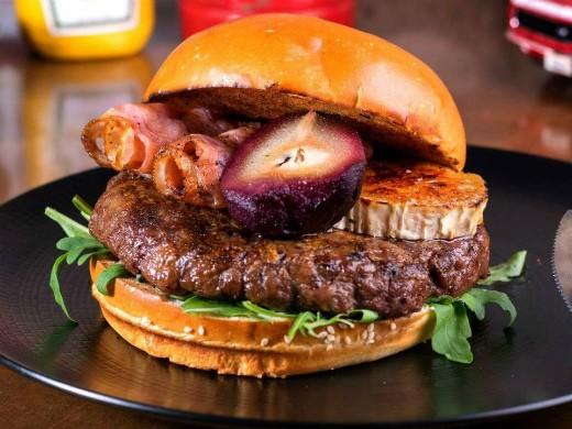 המבורגר טראמפ מושחת של סאנסט, מקור: יח