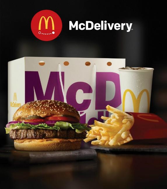 מקדונלד'ס משיקים את mcdelivery