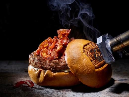 ההמבורגר הלוהט של גרינברג ביסטרו, קרדיט: דן פרץ