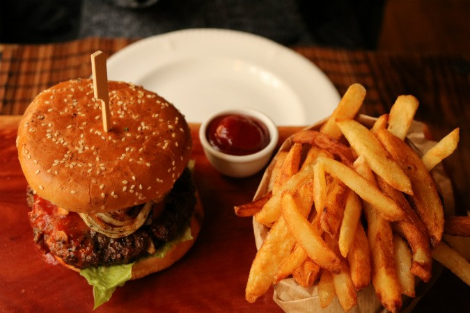 ההמבורגר של הבקתה ברמות - המתמודד לשנת 2018