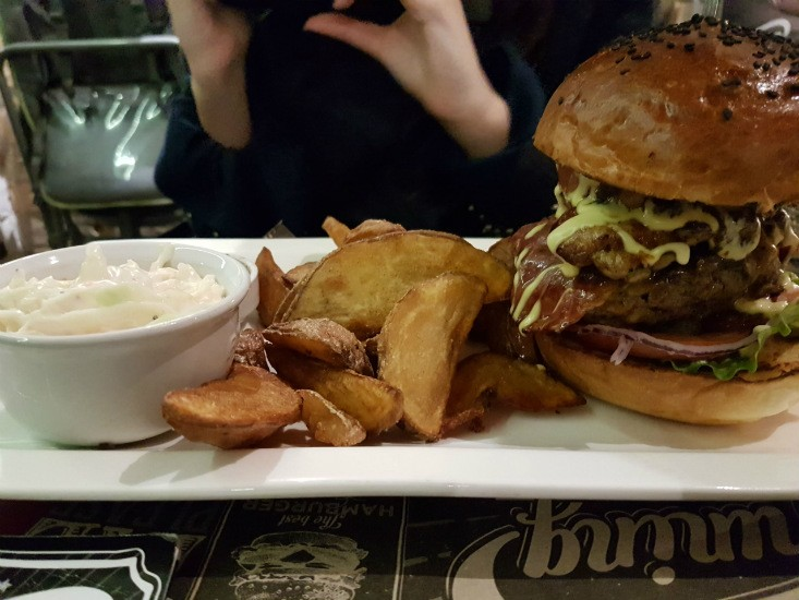 tuning burger בודפסט - המבורגר עסיסי