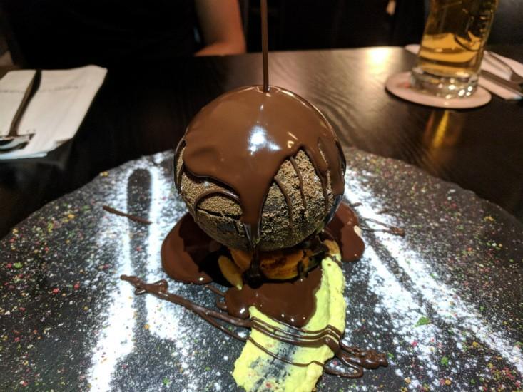 לאגו מעלה אדומים - שוקולד לקינח