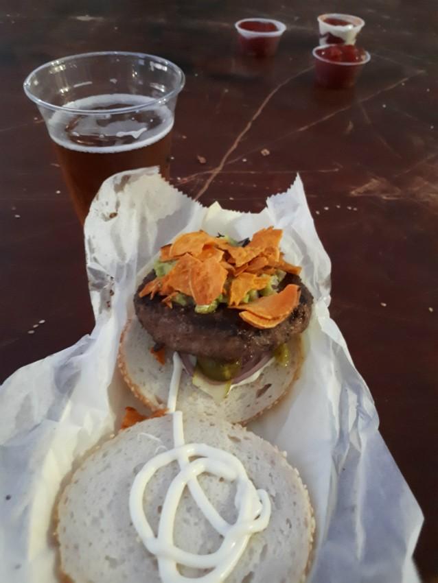 המבורגר ללא גלוטן, לה קולומביאנה