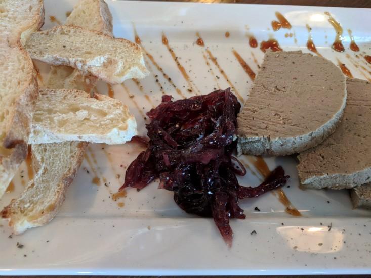פטה כבד עוף של המבורג תל אביב