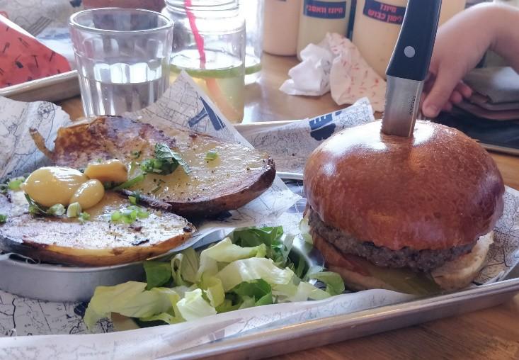 כביש 90 - המבורגר מומלץ