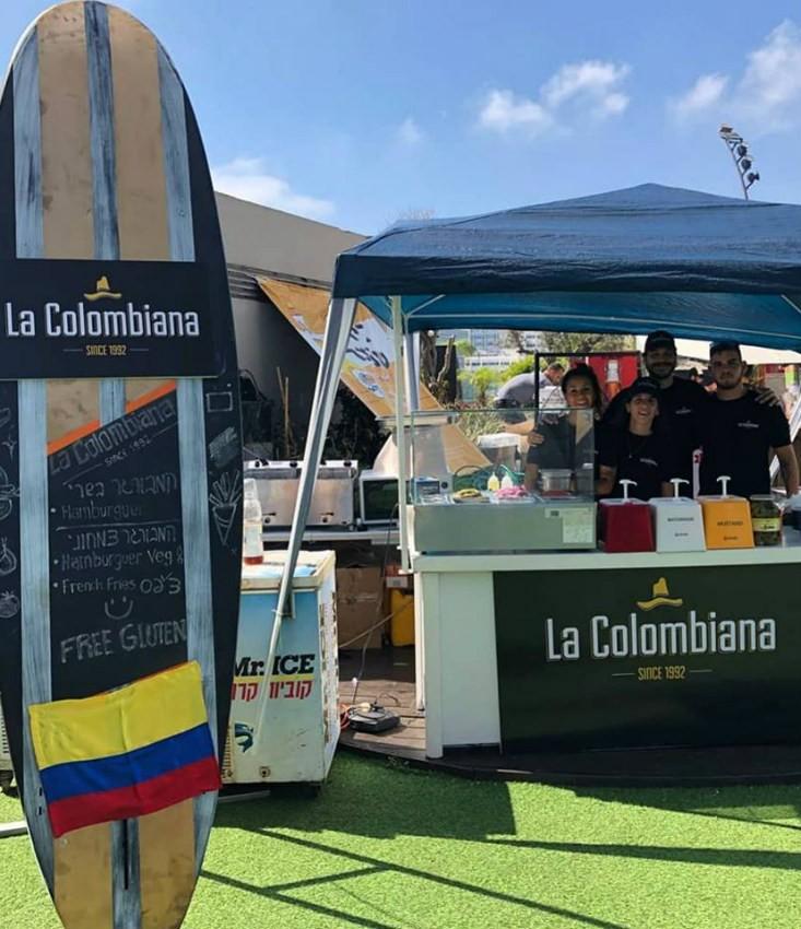 הדוכן של לה קולומביאנה
