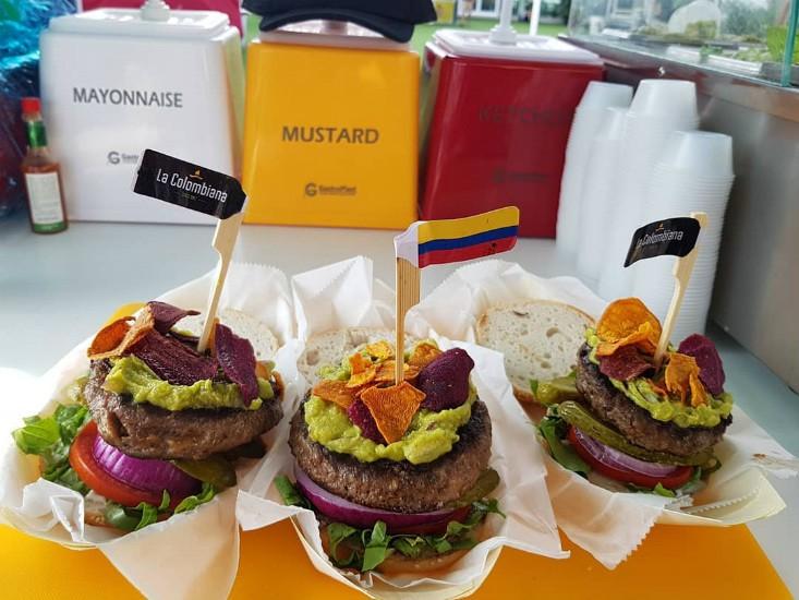 ההמבורגרים שללה קולומביאנה - ללא גלוטן!