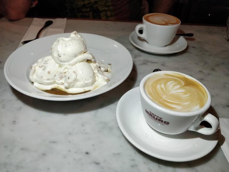 גרינברג ביסטרו, קינוח וקפה