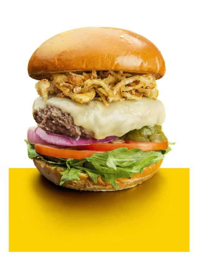 המבורגר שווייצרי של פורט 19, צילום: אנטולי קריניצקי