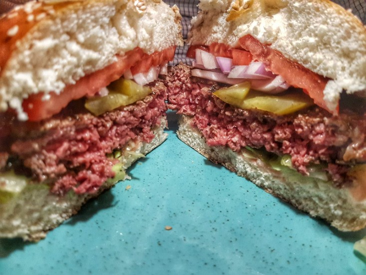 ל'אנטריקוט, המבורגר כשר