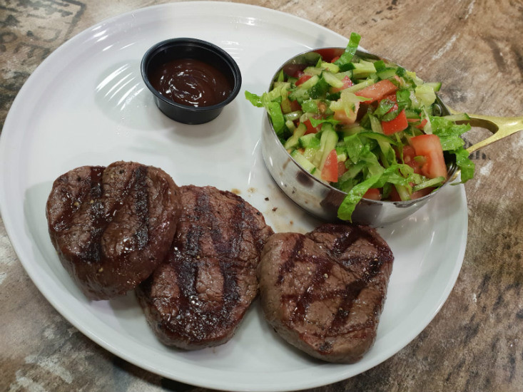ההמבורגר של שגב ירושלים - סטייק פילה