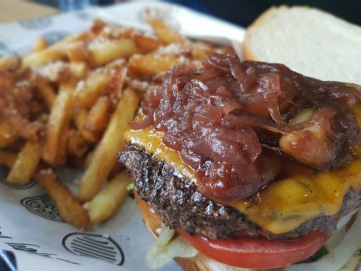 הצ'יזוברגר של the littel burger shop