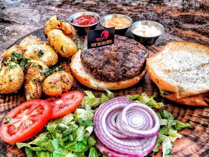 רק בשר משיקים את My Burger
