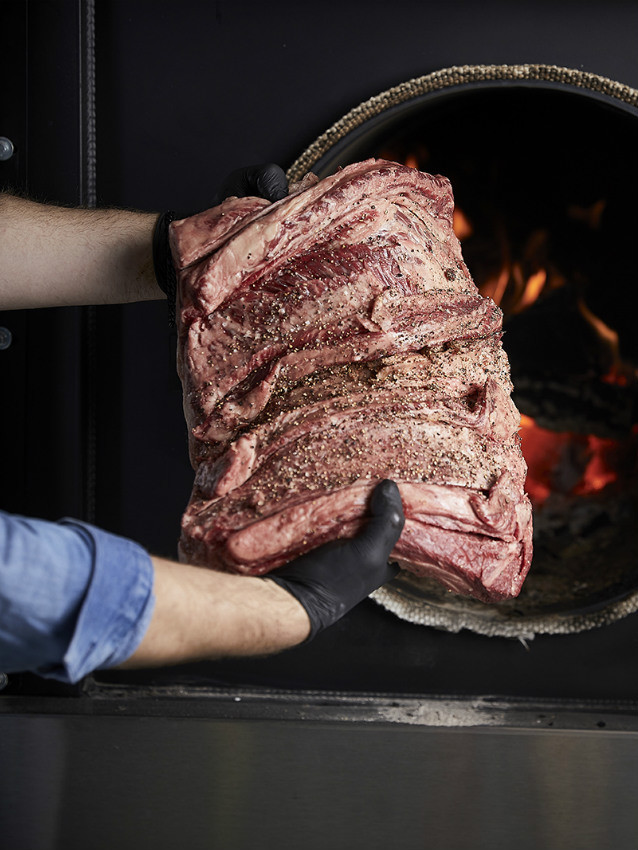הבשר המעושן של מפשחת שכטר, צילום: אפיק גבאי