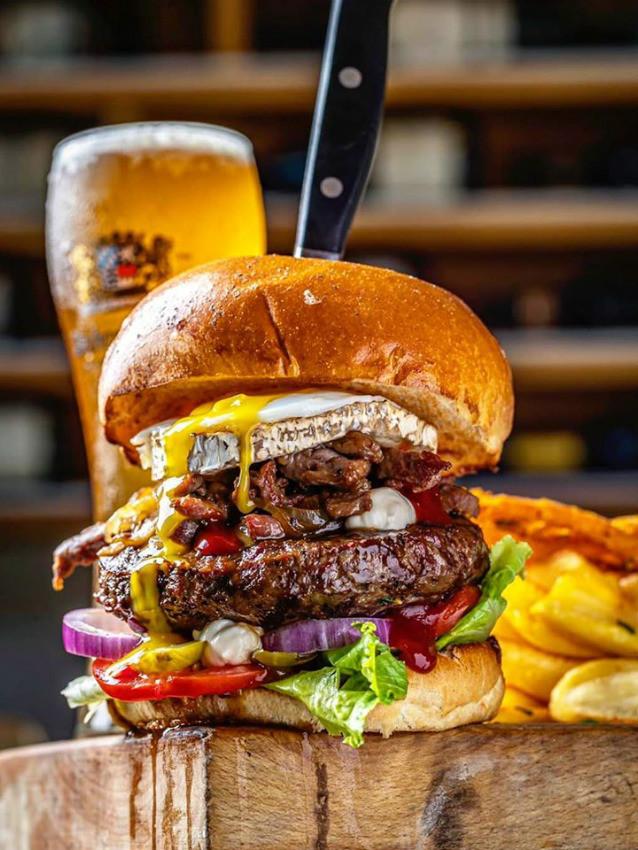 """המבורגר שחיתות של כרמים, מקור: יח""""צ"""