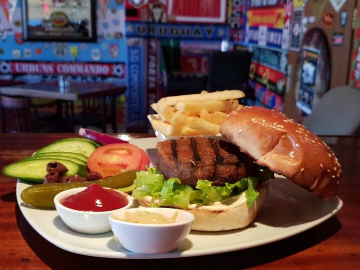 מוזה ערד - המבורגר וצ'יפס, מקור: יחצ