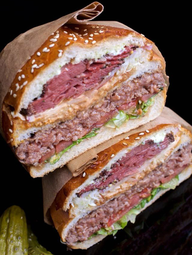 """המבורגר קומות של רובן, מקור: יח""""צ"""